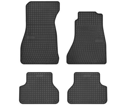 Dywaniki gumowe czarne AUDI A4 B9 od 2015 Wersja Angielska ( kierownica po prawej stronie )
