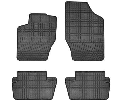 Dywaniki gumowe czarne CITROEN C4 2004-2010 | CITROEN C4 od 2011