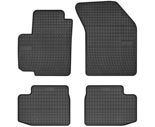 Dywaniki gumowe czarne FIAT Sedici 2006-2014 | SUZUKI Swift III 2005-2010, IV 2010-2017 | SUZUKI SX4 2006-2014