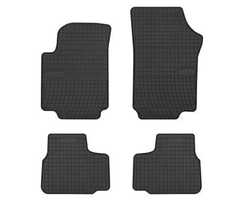 Dywaniki gumowe czarne SEAT Mii od 2011 | SKODA Citigo od 2012 | VW up od 2011