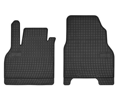 Dywaniki gumowe czarne MERCEDES Citan od 2012 | Renault Kangoo od 2008 wersja 2-osobowa