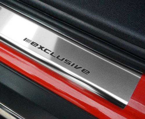 VW UP 5D HATCHBACK od 2012 Nakładki progowe STANDARD połysk 4szt