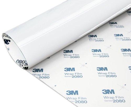 Folia Biały Połysk 3M G10 2080 152x50cm