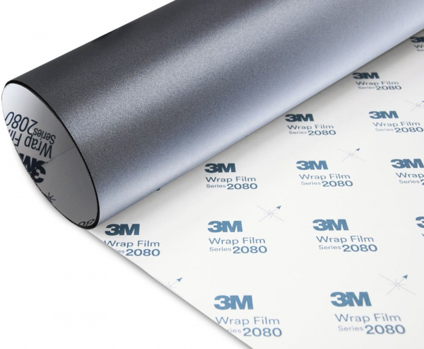 Folia Szary Mat Metallic 3M M261 2080 10x20cm