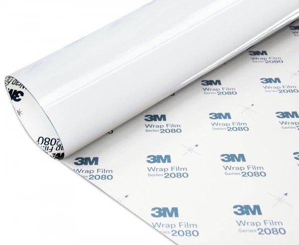 Folia Biały Połysk 3M G10 2080 152x40cm