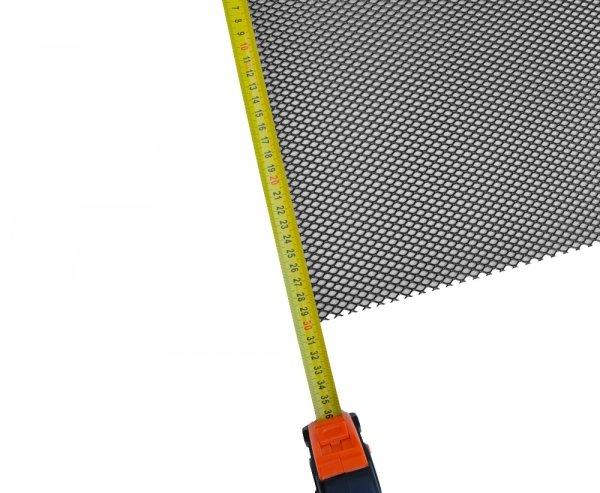 Siatka tuningowa Czarna 6,5mm x 4mm 100cm x 30cm