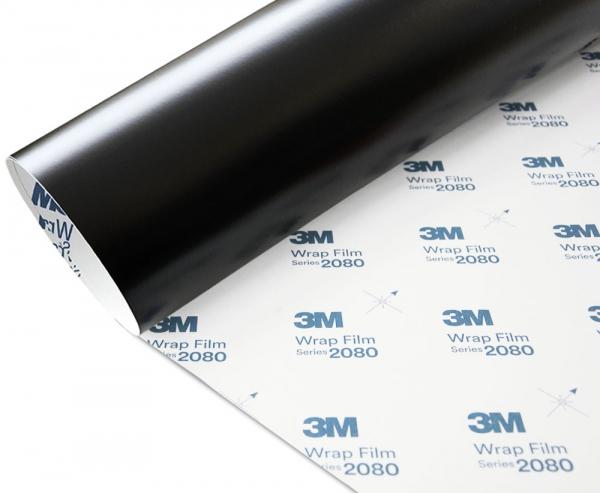 Folia Czarny Mat 3M M12 2080 152x130
