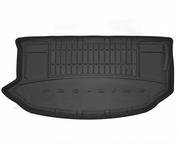 Mata bagażnika gumowa KIA Soul XL 2008-2013 górna podłoga, wersja z kołem zapasowym (pełnowymiarowe)