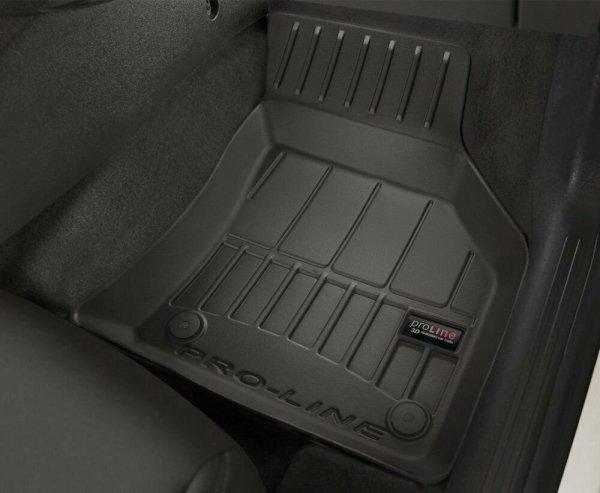 Dywaniki gumowe 3D do VW Crafter II od 2016