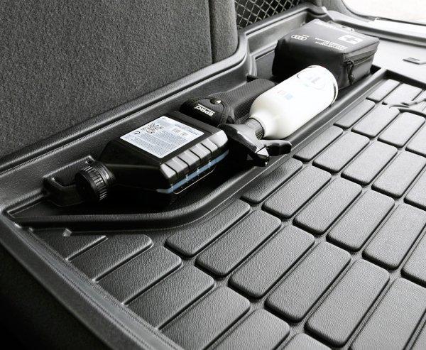 Mata bagażnika gumowa SEAT Ibiza V HB od 2017 dolna podłoga bagażnika