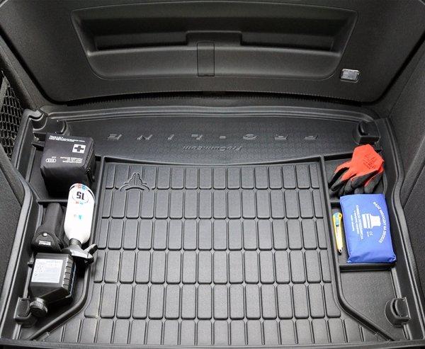 Mata bagażnika gumowa FORD EcoSport II od 2012 górna podłoga, wersja z kołem zapasowym (pełnowymiarowe)