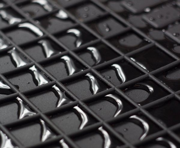 Dywaniki gumowe czarne FORD Fiesta V 2001-2008 | Fusion 2002-2013 | MAZDA 2 2002-2007