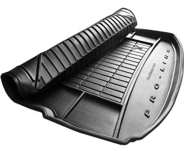 Mata bagażnika gumowa MITSUBISHI Outlander III od 2012 wersja 7 osobowa ( ostatni rząd siedzeń rozłożony )