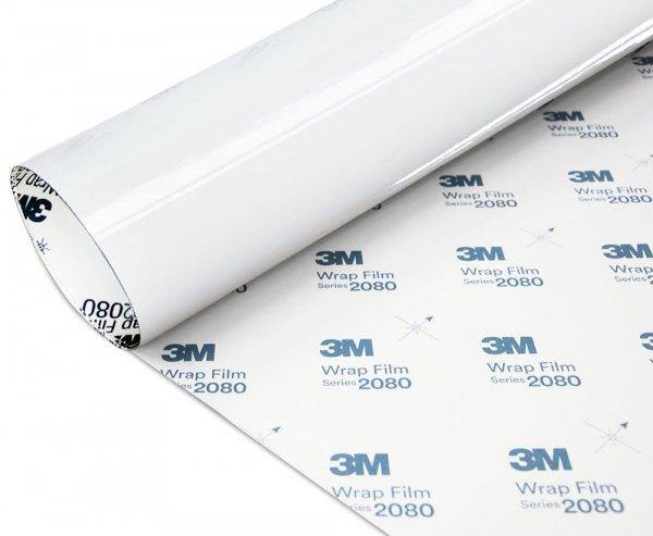 Folia Biały Połysk 3M G10 2080 152x130cm