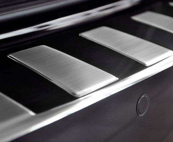 BMW 6 F13 Coupe M SPORT od 2011 Nakładka na zderzak TRAPEZ Satin