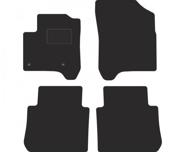 S1A00000 Dywaniki welurowe Citroen C3 Picasso 2008-2017