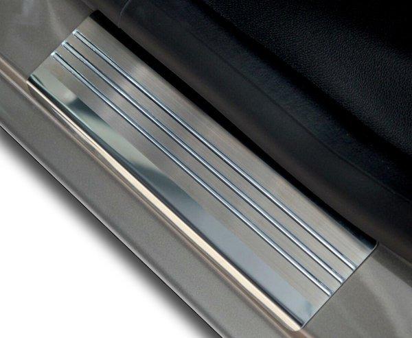 FORD S-MAX II od 2015 Nakładki progowe - stal + poliuretan [ 4szt ]