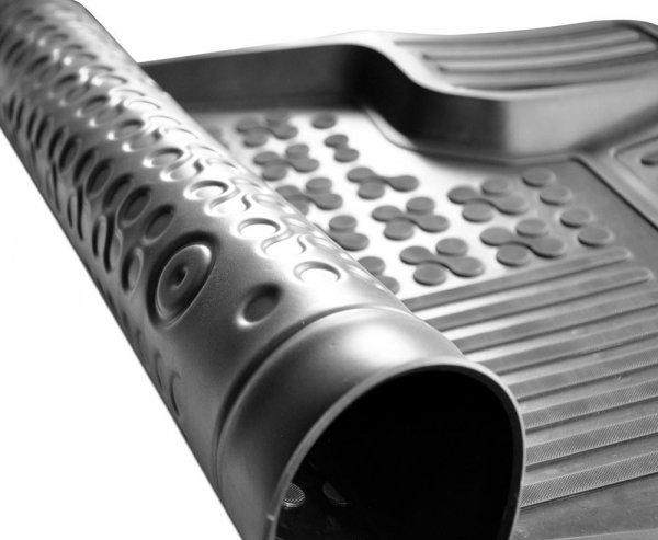 Dywaniki korytka gumowe Kia SORENTO IV od 2020 wersja 7 osobowa (złożony 3 rząd siedzeń)