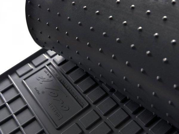 Dywaniki gumowe czarne FORD Galaxy 1995-2006 | SEAT Alhambra 1995-2010 | Vw Sharan 1996-2010 wersja 2-osobowa
