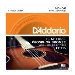 D'Addario EFT15 - Flat Tops 10-47