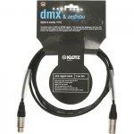 Klotz DMX3K0100 kabel DMX OT206 1m XLR - XLR