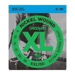 D'Addario EXL130+ - XL Nickel Wound 8.5-39