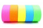 Gaffer taśma Fluorescent 19x25mm żółty