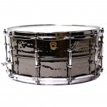 Ludwig Black Beauty 14x6,5 Hammered Nickel Black werbel