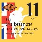 Rotosound TB11 Tru Bronze struny do akustyka 11-52