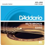 D'Addario EZ910 - 85/15 Bronze 11-52