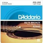 D'Addario EZ940 - 85/15 Bronze 12-String 10-50