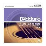D'Addario EJ26 - Phosphor Bronze 11-52