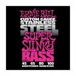ERNIE BALL 2844 Super Slinky 45-100 struny do basu
