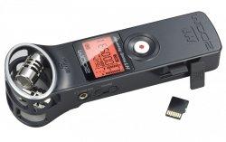 Zoom H1 Czarny Matowy dyktafon + 2 Gb