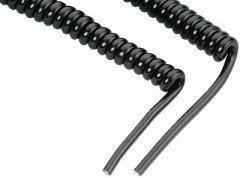Monacor CCX-20KP kabel słuchawkowy spiralny