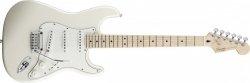 Squier 030-0500-523 Deluxe Stratocaster Pearl White Metallic Gitara elektryczna