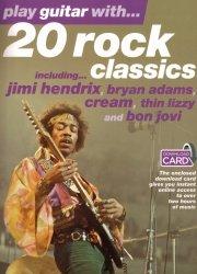 PWM Hal Leonard 20 rock classics + akompaniamenty do pobrania