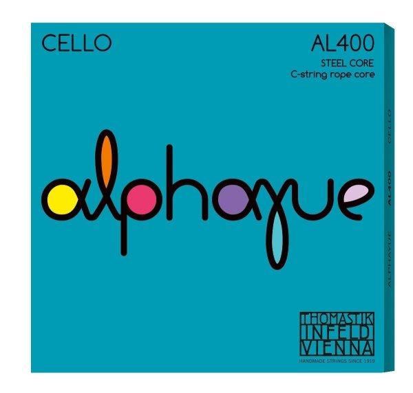 Thomastik Alphayue AL400 4/4 struny wiolonczeli