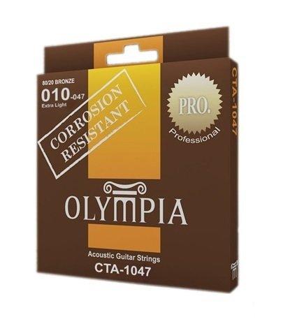 Olympia CTA-1047 struny akustyczne 10-47