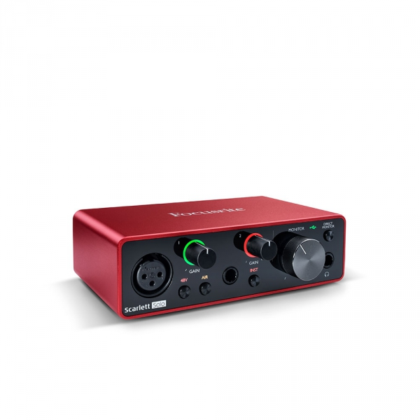 FOCUSRITE Scarlett Solo 3Gen interfejs audio