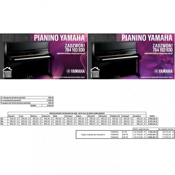 Yamaha B2 PE pianino akustyczne