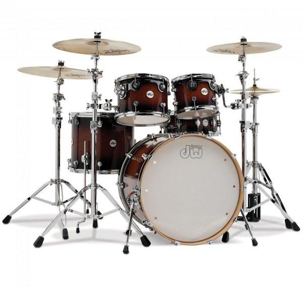 DW Design Series (Tobacco Burst) perkusja shell set