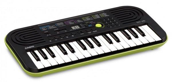 CASIO SA-46 zielony keyboard dla dzieci