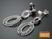 KABRIA AMI kolczyki srebrne