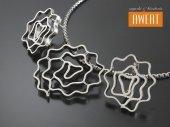 NELMA srebrny komplet biżuterii