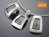GREEK srebrny komplet biżuterii