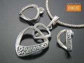 GIULIETTA srebrny komplet biżuterii
