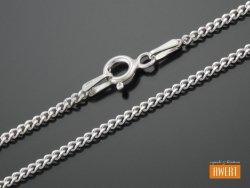 PANCERKA łańcuszek srebrny 45 cm / 1,7 mm