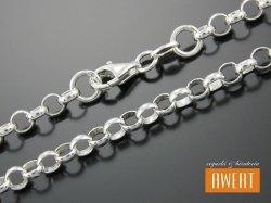ROLO łańcuszek srebrny 45 cm / 3,3 mm