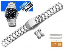 CASIO MTP-1266D MTP-1266 oryginalna bransoleta 19 mm